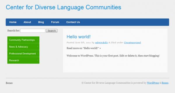 Center for Diverse Languages