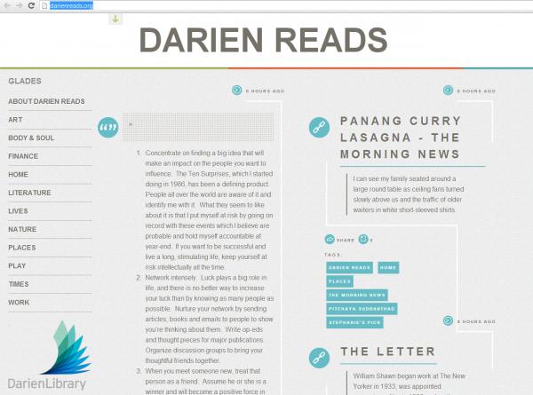 Darien Library's new Tumblr!