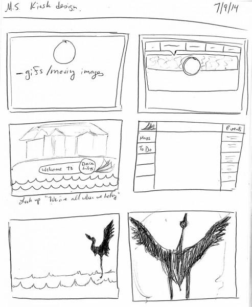 App inspired designs