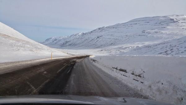Snow piled so high!